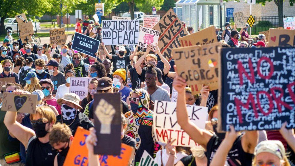#BlackLivesMatter protests in the US